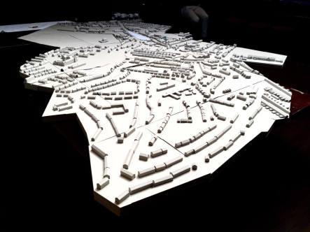 Harold's Cross Model at 1:500 Scale