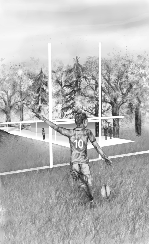 rugby kicker photoshop